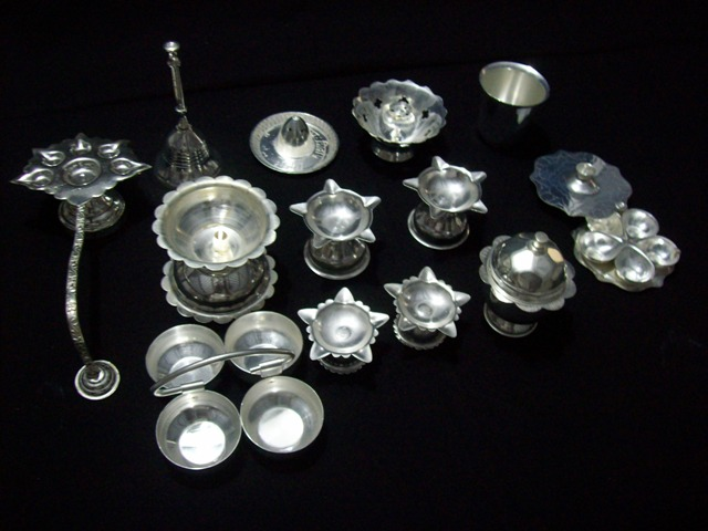 silver coated steel gift items